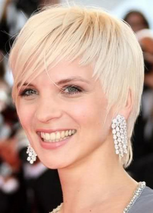 2013 New Short Blonde Hairstyles