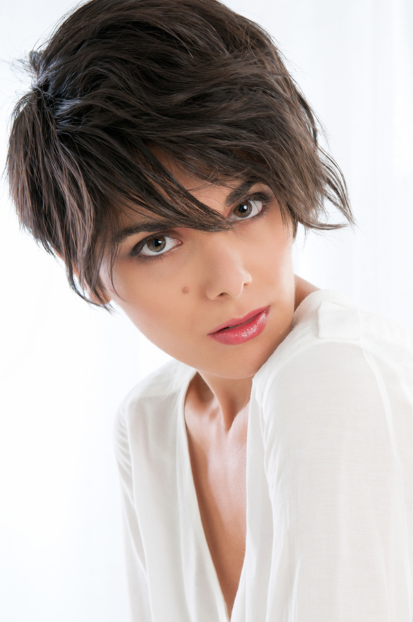 2013 Short Shaggy Hairstyles for Fine Hair