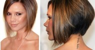 Beautiful Short Angled Bob Haircuts 2013