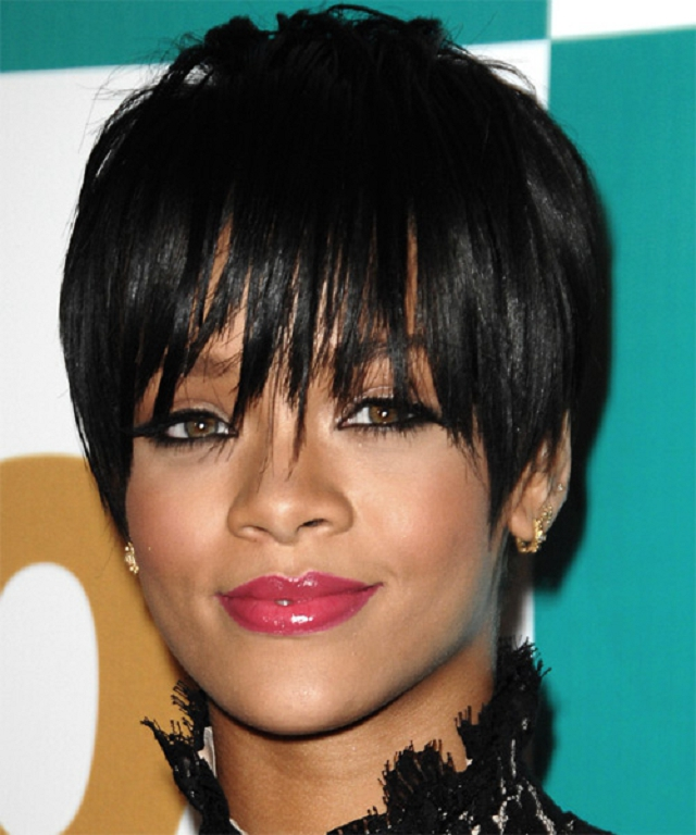 beautiful short black hairstyles 2013 short black hair style back in ...