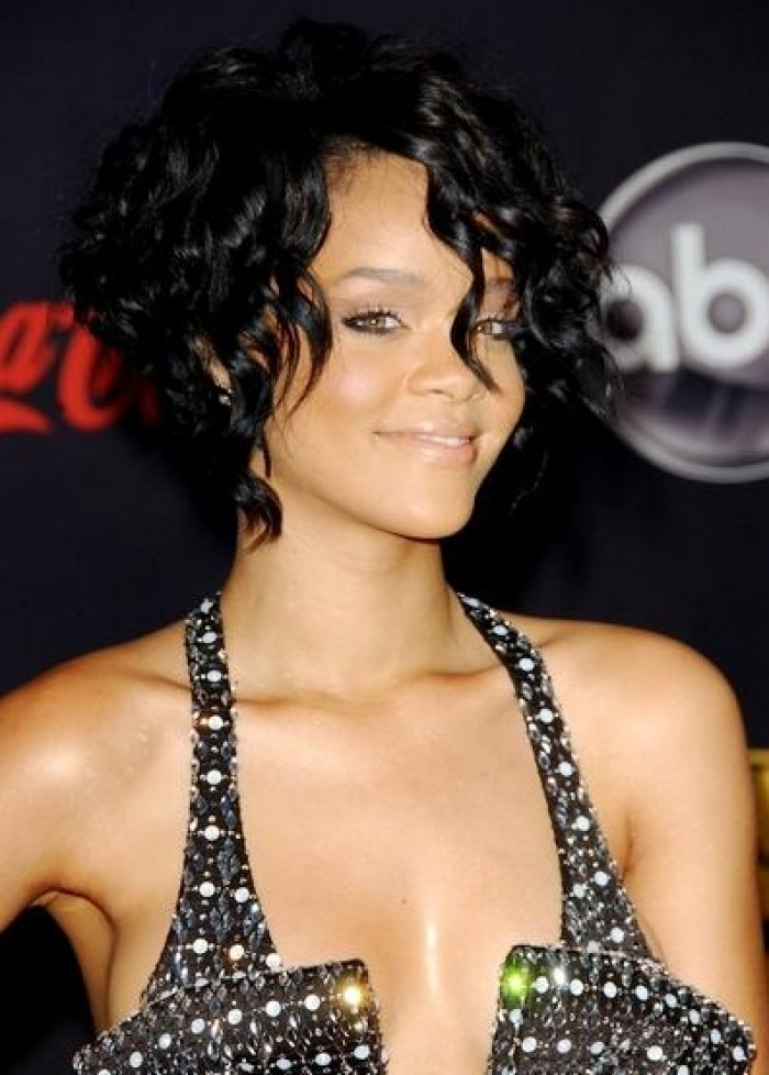 Beautiful Short Curly Black Hairstyles 2013