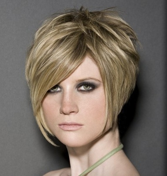 Beautiful Short Stacked Hairstyles 2013
