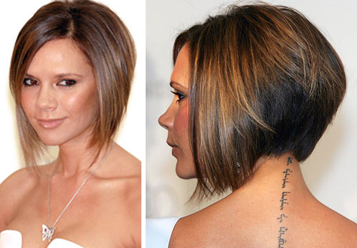 Best Short Bob Hairstyles Back View