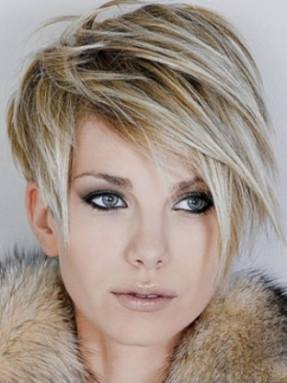 Blonde Hair Color for Short Hairstyles 2013