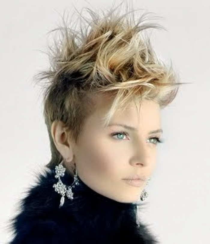 cool short edgy hairstyles 2014 edgy hairstyles work beautifully on a ...