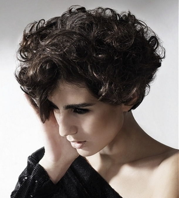 Best Curly Short Hairstyles 2013