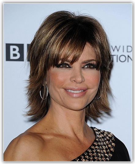 Cute Short Shag Haircuts for Older Women