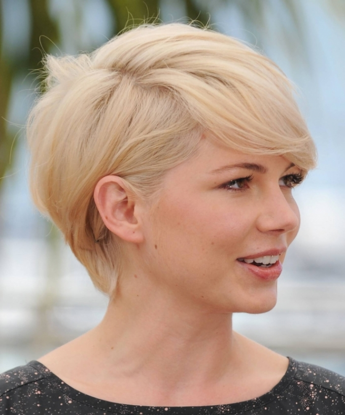 Cute Short White Bob Hairstyles