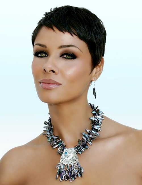 Pixie Haircuts for Short Black Hair 2014