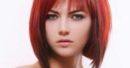 Red Hair Color For Short Bob Hairstyles