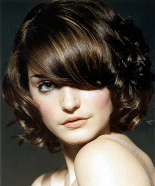 Cute Short Curly Bob Hairstyles 2014