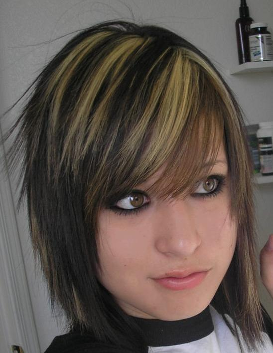 Short Emo Hairstyles for Beautiful Girls