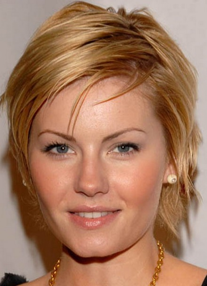 Short Hairstyles for Fat Faces and Double Chins