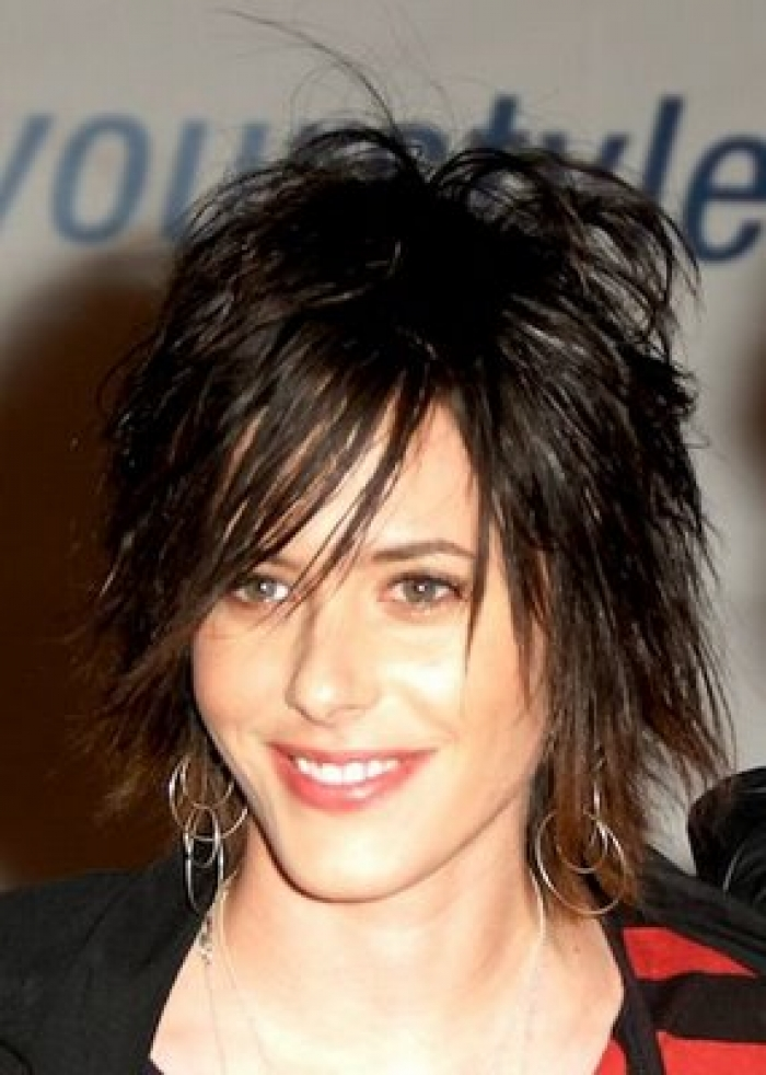 Short Layered Shaggy Hairstyles 2013