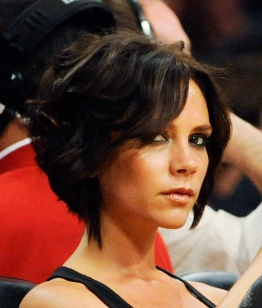 Short Messy Inverted Bob Hairstyles