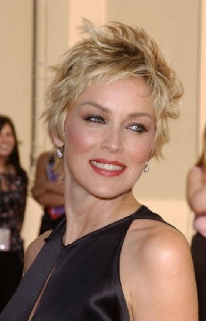 Short Shag Haircut For Women Over 50 With Fine Hair