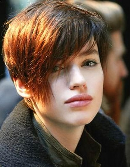 Short Shag Hairstyles for Beautiful Girls