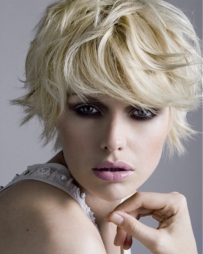 Short Shaggy Haircuts for Fine Hair 2013
