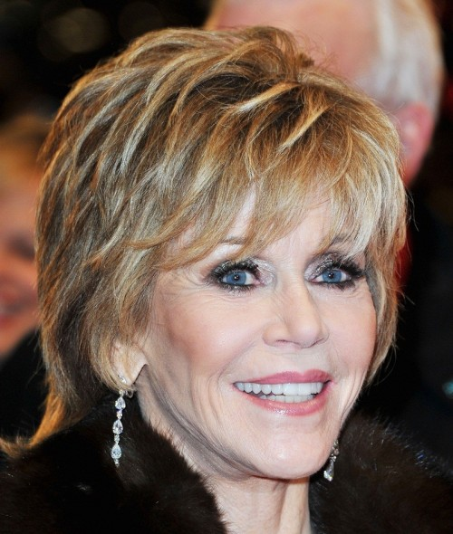 Short Shaggy Hairstyles for Women Over 50 with Thick Hair
