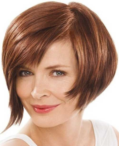 Short Stacked Bob Hairstyles for thin hair