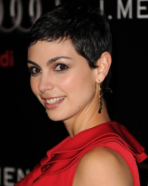 Super Short Black Hairstyles for Round Faces