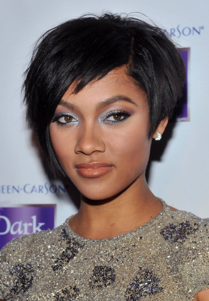 African American Short Hairstyles for Women 2013