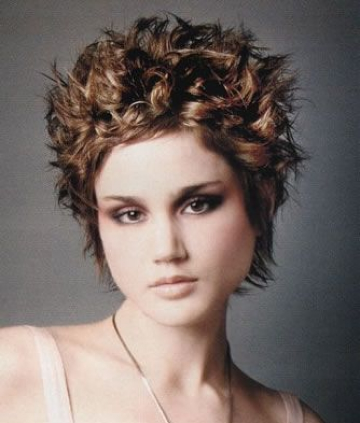 Vintage Very Short Curly Hairstyles 2013