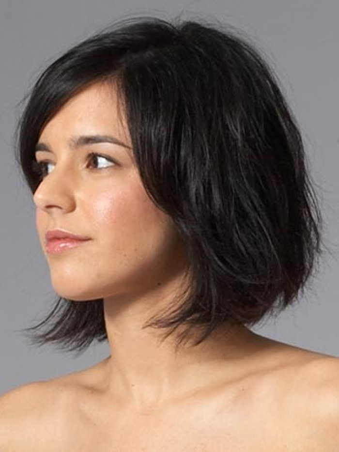 2013 Short Bob Hairstyles for Thick Hair