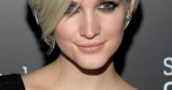 Ashlee Simpson Short Pixie Hairstyles