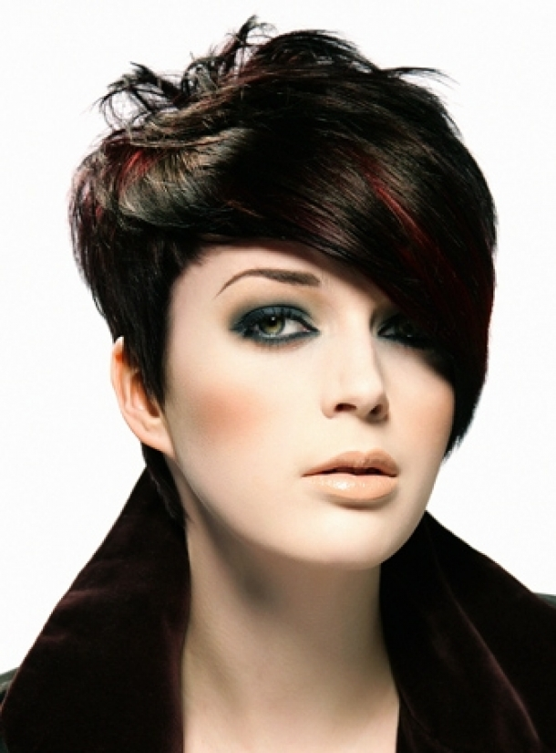 Best Edgy Short Haircuts 2013