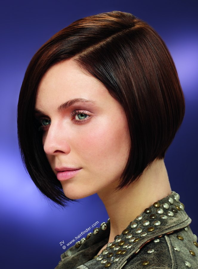 Brunette Bob Short Hairstyles Pictures