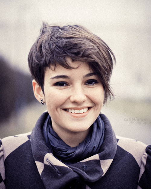 Cute Short Edgy Haircuts for Beautiful Girls