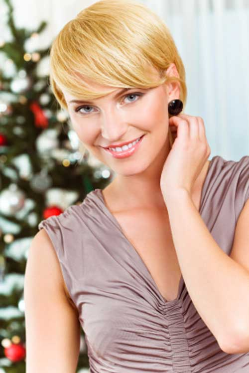 Cute Short Golden Blonde Haircuts