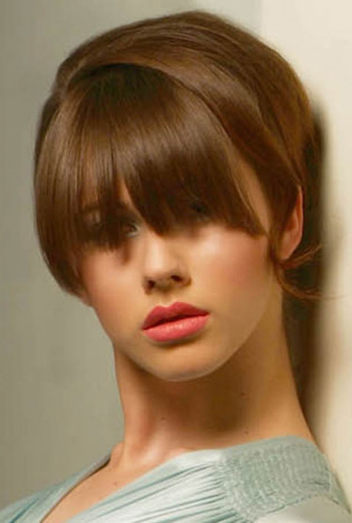 Cute Short Haircuts with Bangs 2013