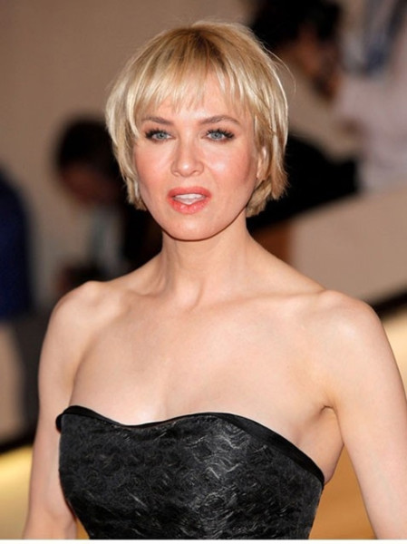 Cute Short Haircuts with Bangs for Older Women