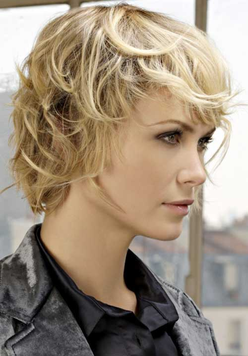 Cute Short Shag Blonde Haircuts