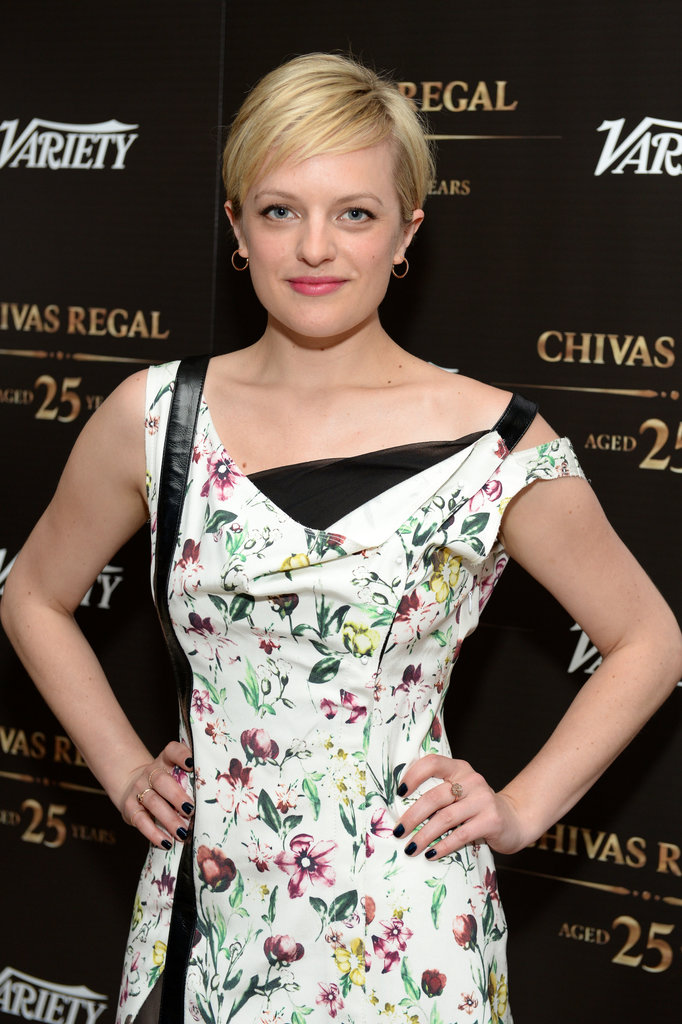 Elisabeth Moss with Short Pixie Hairstyles