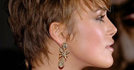 Keira Knightley Short Pixie Haircuts