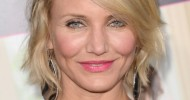Layered Short Choppy Bob Hairstyles From Cameron Diaz