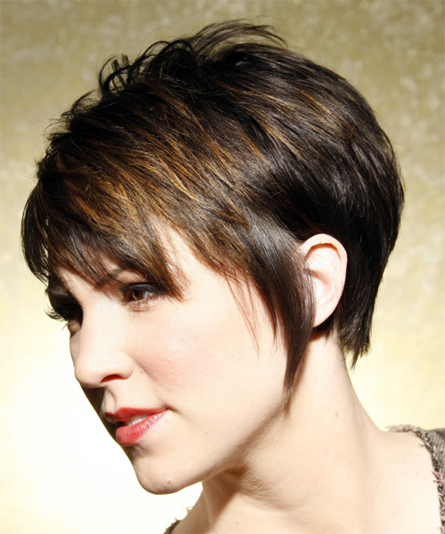 New Trendy Short Hairstyles with Bangs