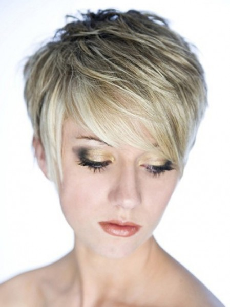 Pictures of Short Layered Hairstyles