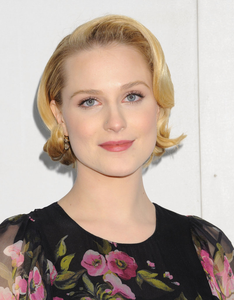 Rachel Wood with Short Pixie Hairstyles