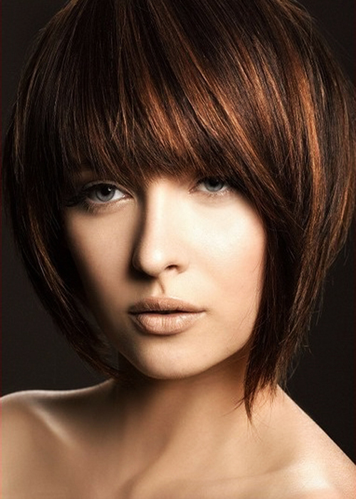 Short Choppy Layered Bob Haircuts Short-Choppy-Layered-Bob-Hairstyles-with-Bangs