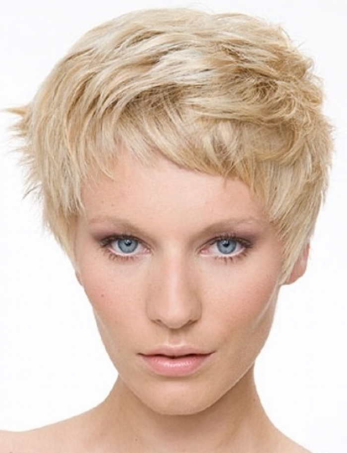 Short Choppy Layered Haircuts for Women Over 40