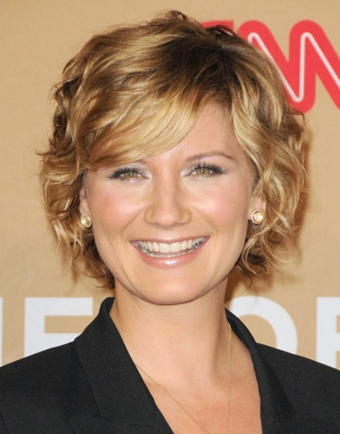 Short Curly Hairstyles for Fine Hair 2014