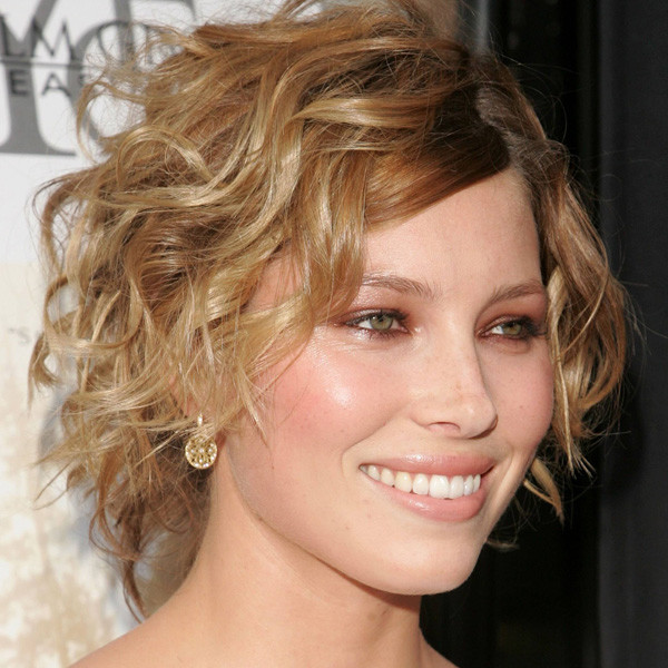 Short Curly Wedge Haircuts