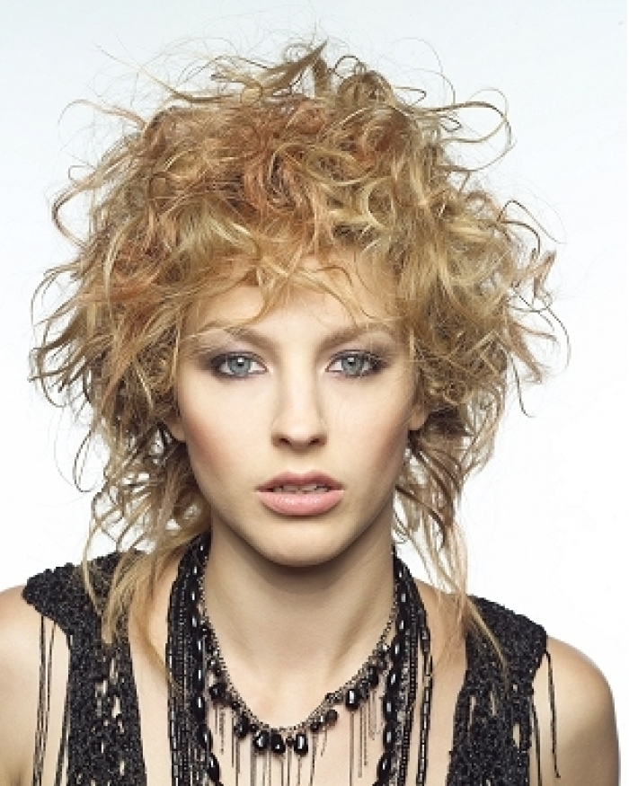 Short Edgy Haircuts for Curly Hair