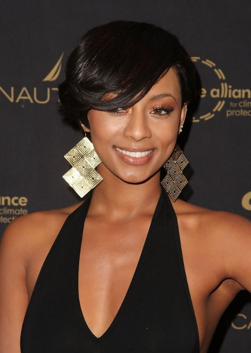 Short Hairstyles With Bangs For Black Women