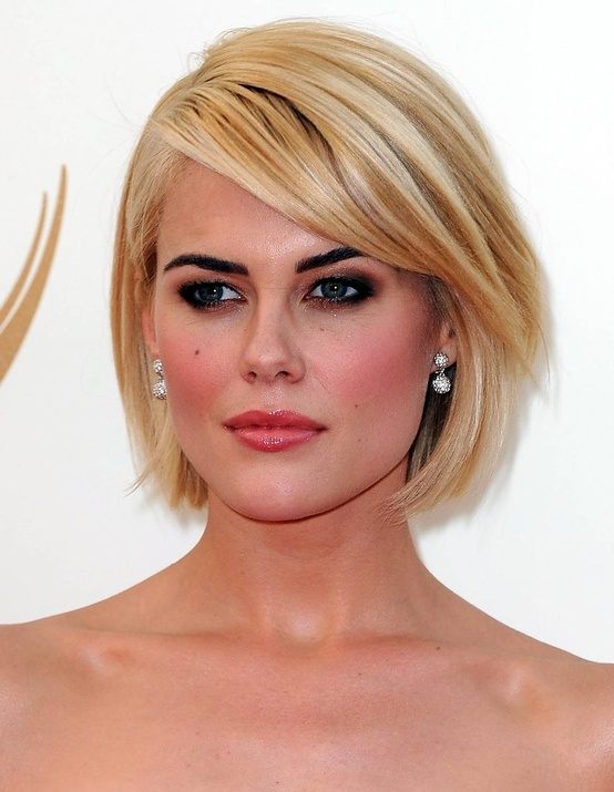 Best Short Hairstyles with Bangs 2015 Short-Hairstyles-With-Side-Bangs