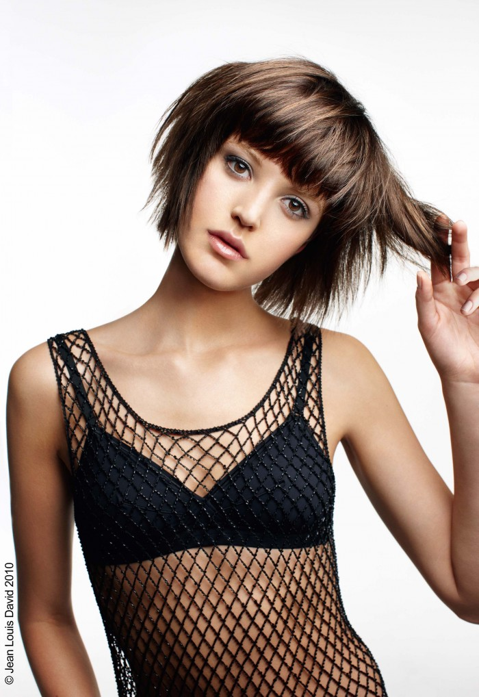 Short Hairstyles with Bangs for Girls